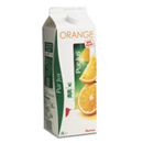 Auchan pur jus d'orange brique 2l