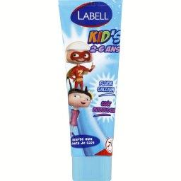 Dental care, kid's aroma bubble-gum, dentifrice pour enfant au fluor, le tube,50ml
