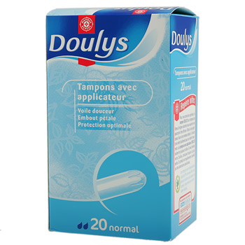 Tampons Doulys applicateur Normal x24