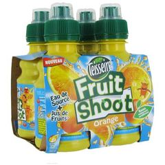 Teisseire Fruit Shootpack 4x20 cl Orange