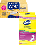 Tampons Normal sans applicateur + Protège-Slips Large - Aloe
