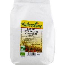 Farine d'epeautre complete NATURALINE, 500g