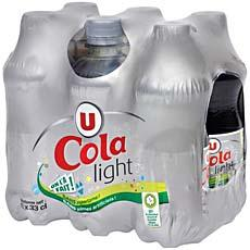 U Cola light U pack pet 6x33cl