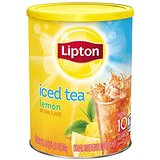 LIPTON ICED Tea Lemon FLAVOURED POUDRE Drink Mix fait 10 QUARTS TUB 751g