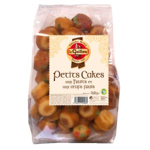 Petits cakes fruits Le Guillou 450g