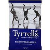 Tyrrells Lightly Sea Salted Crisps 150G by Tyrrells