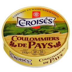 Fromage Coulommiers Les croises 21% MG 350g