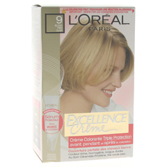 Excellence coloration blond tres clair 9