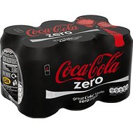 Coca Cola Zero (6x330ml) - Paquet de 2