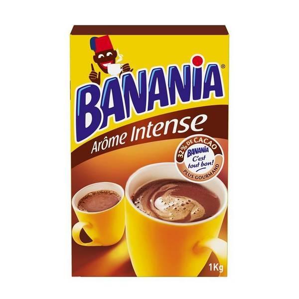 banania chocolat en poudre ar me intense la boite de 1 kg tous les produits caf s solubles. Black Bedroom Furniture Sets. Home Design Ideas