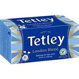 Thé London Blend TETLEY, boîte de 25 sachets tir'press, 50g