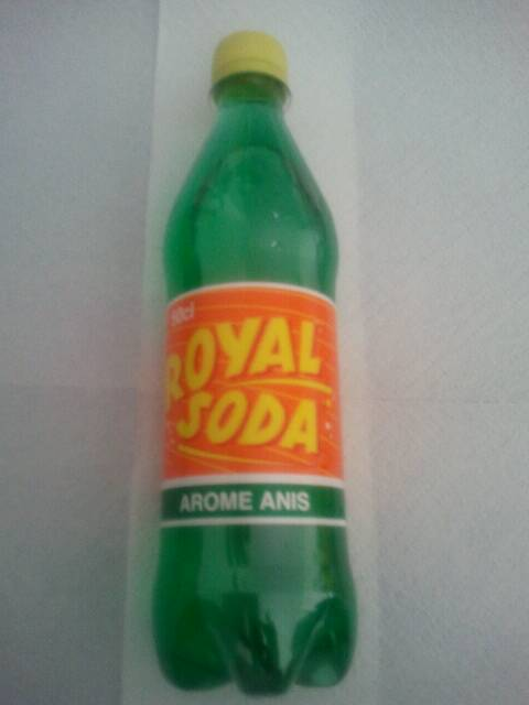 Royal Soda Arôme Anis, 50 cl