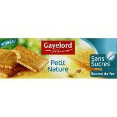Petit nature sans sucre GAYLORD HAUSER, 156g