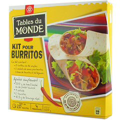 kit preparation Tables du Monde Burritos 620g