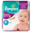 Pampers active fit geant 9/20kg x37 taille4 +