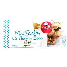 Mini rochers coco SEREBIS, 400g