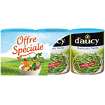 D'aucy haricots verts extra fins 3x440g