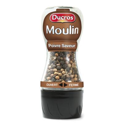 ducros le moulin au poivre saveur 30g tous les produits sels poivres prixing. Black Bedroom Furniture Sets. Home Design Ideas