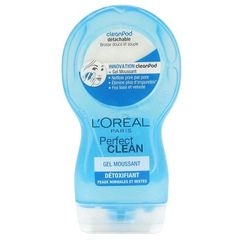 Perfect Clean - Gel moussant + cleanpod, peaux normales, le flacon de 150ml