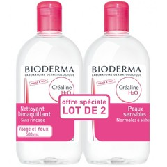 Solution micellaire Créaline H2O démaquillante Bioderma