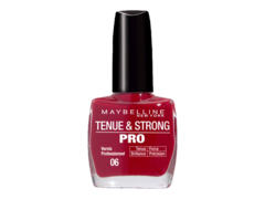 Gemey vernis tenue & strong pro 06 rouge profond