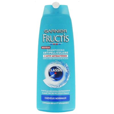 Fructis, Classic - Shampooing antipelliculaire cheveux normaux, le flacon de 250ml