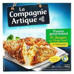 Panier gourmand st jacques au noilly surg.Cie Artique 400g