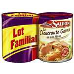 William saurin choucroute garnie 800g x2