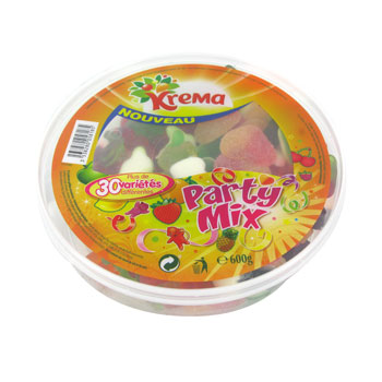 Bonbons gelifies Party Mix Krema, 600g