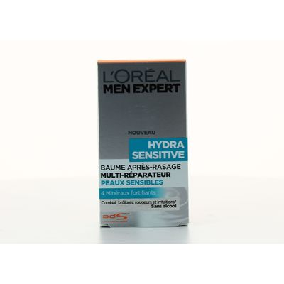 Baume pansement apres rasage Hydra Sensitive Men Expert, 100ml