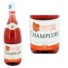 Vin de table de France rose CHAMPLURE, 75cl