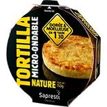 Tortilla nature micro ondable SAPRESTI TRAITEUR, 150g