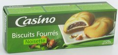 Biscuits fourres a la noisette