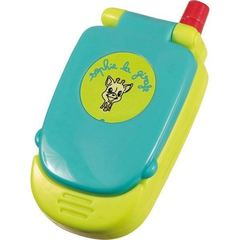 Jouet Melody Phone Sophie la Girafe VULLI, anis et turquoise