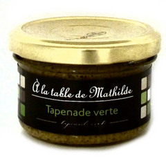 La Table de Mathilde tapenade verte 90g