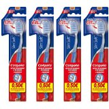 Colgate Brosse à Dents Slimsoft White Souple - Lot de 4