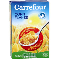 Corn Flakes delicatement dores au four