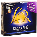 Cafe moulu L'OR decafeine, 2x250g