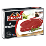 Entrecotes CHARAL, 2 pieces, 340g