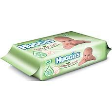 Huggies lingette natural care x64 éco pack