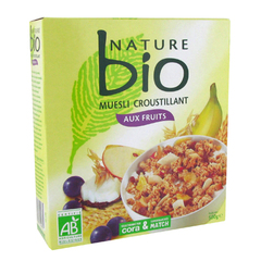 Nature bio muesli croustillant aux fruits 500g