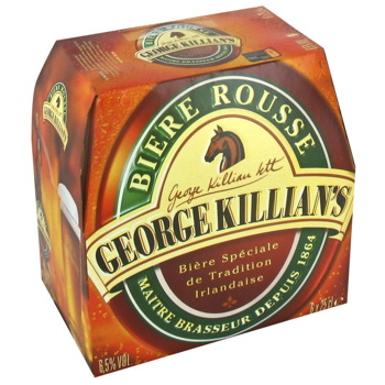 Georges Killian's Biere rousse 6,5° - 6x25cl