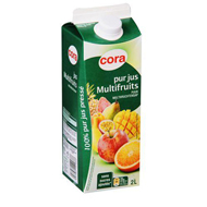 Pur jus de fruits multivitamines