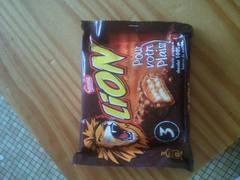 Lion Barres Chocolatées Paquet de 3