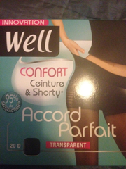 Collant accord parfait WELL, noir, taille 2