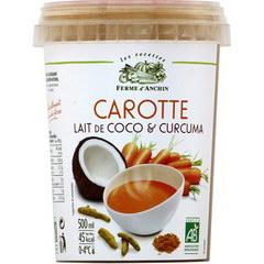 city cup soupe carotte lait de coco curcuma bio tous les produits potages liquides prixing. Black Bedroom Furniture Sets. Home Design Ideas