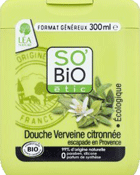 So'Bio Étic Douche Verveine Citronnée Escapade en Provence 300 ml Lot de 3