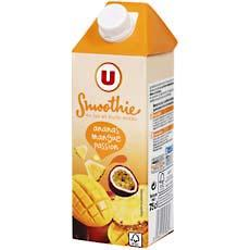 Smoothie ananas mangue passion U brick 75cl