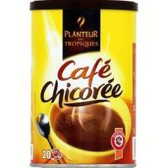 Cafe chicoree solubles, la boite de 100g
