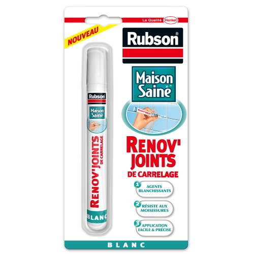 Renov'joints de carrelage RUBSON, 7ml, blanc